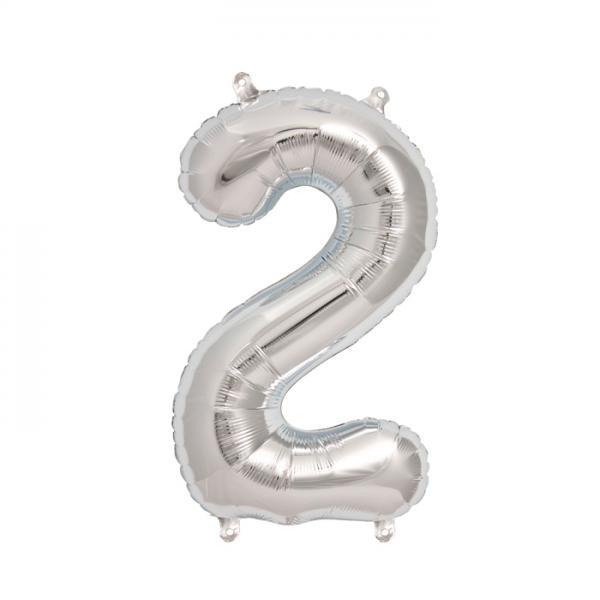 Zahlenballon 2