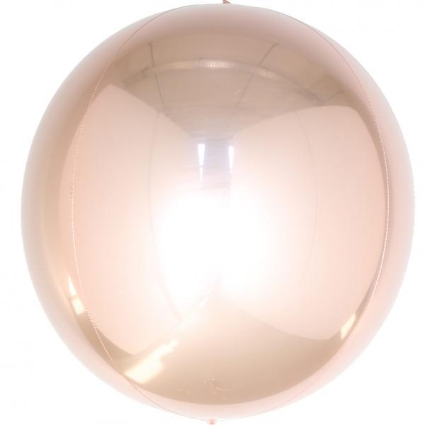 Orbz Ballon rosegold