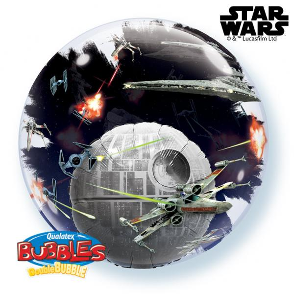 Star Wars Todesstern Double Bubble Ballon