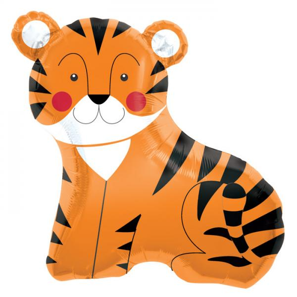 Tiger Folienballon
