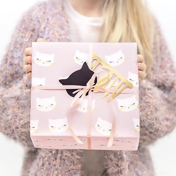 Geschenkpapier Cats 2er Set