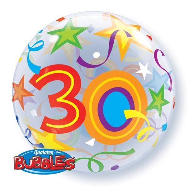 Zahlenballon 30