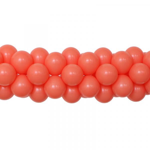 Ballongirlande einfarbig