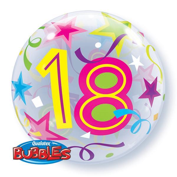 Zahlenballon 18