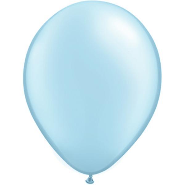 Luftballon Himmelblau