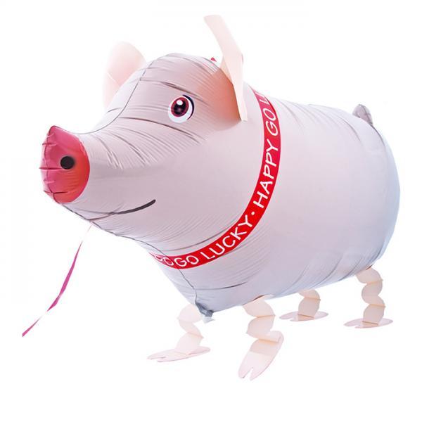 Schwein Folienballon Airwalker