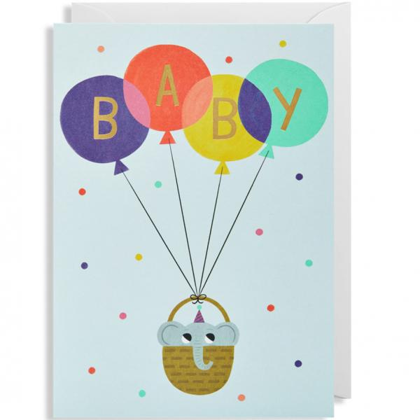 Grußkarte Baby