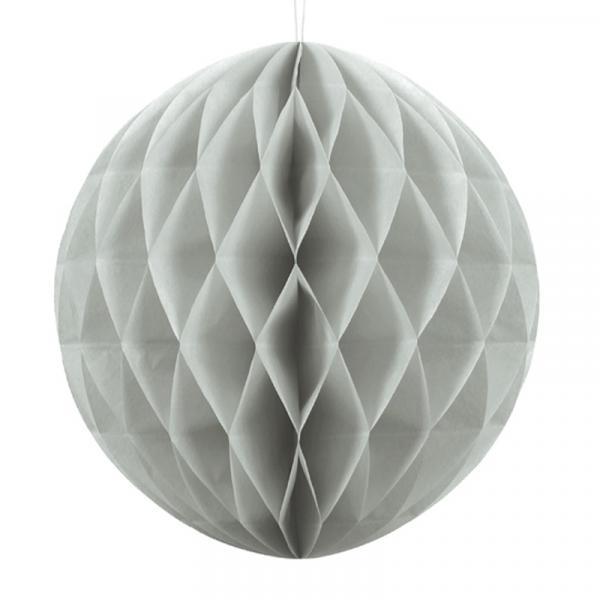 Wabenball Grau 30cm