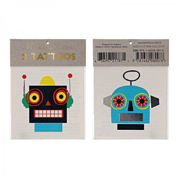 Roboter Tattoos