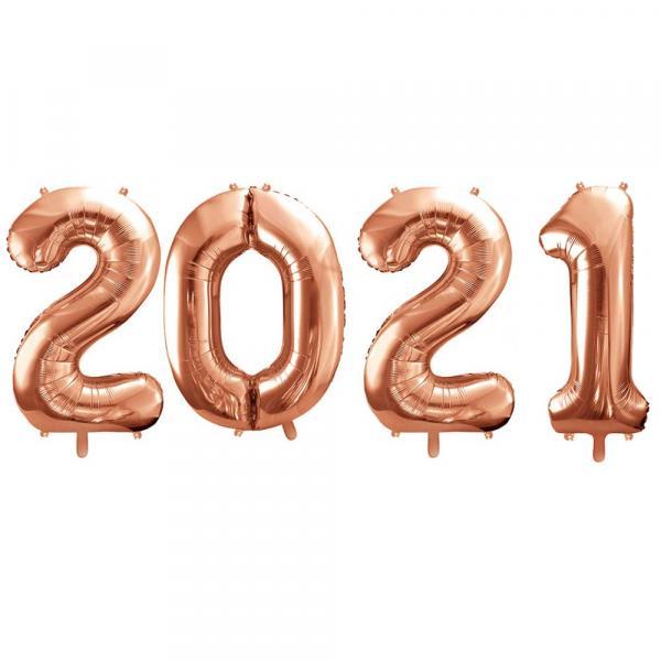 2021 Zahlenballon Set XXL