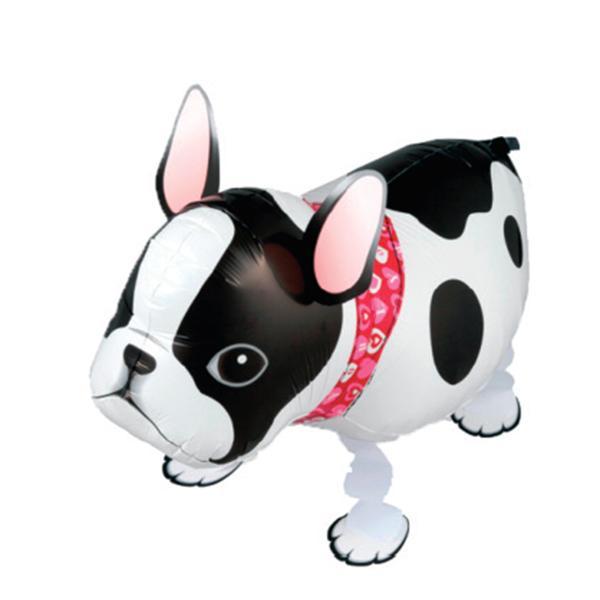 Französische Dogge Hund Folienballon Airwalker
