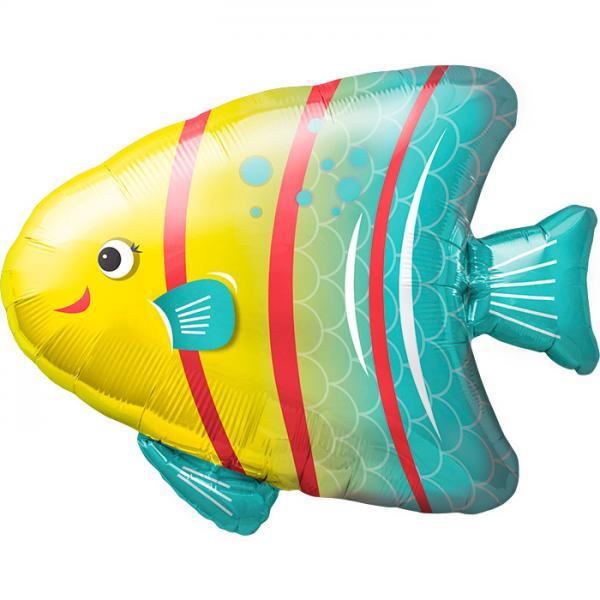 Meerengel Fisch Folienballon
