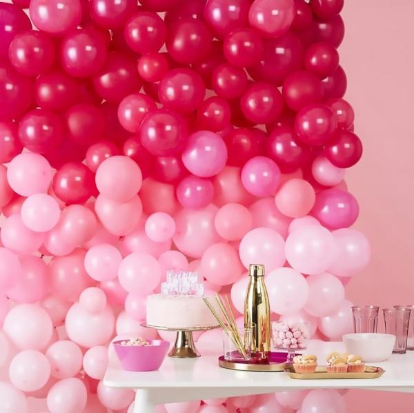 Ballonwand Hintergrund