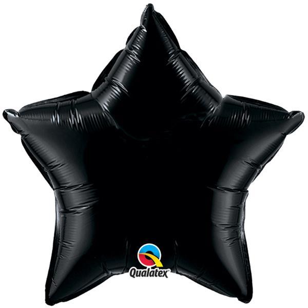 Sternballon Schwarz