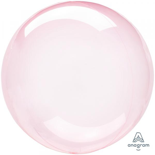 Transparenter Ballon Kugel Pink