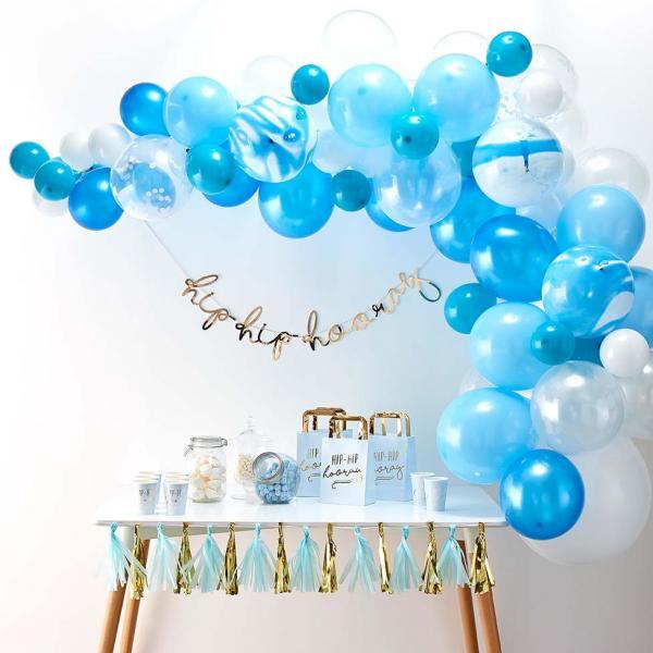 Ballon Girlande Set DIY