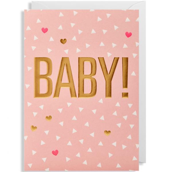 Grusskarte Baby
