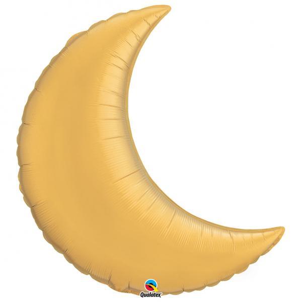 Mond Folienballon Gold