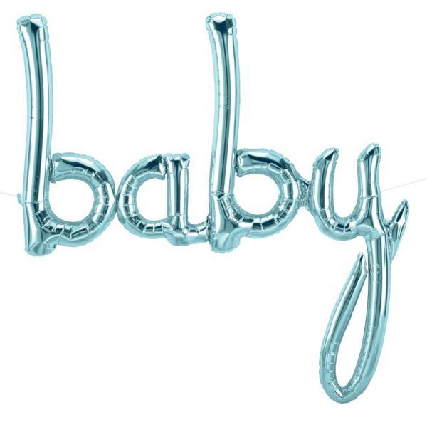 Baby schirftzug ballon