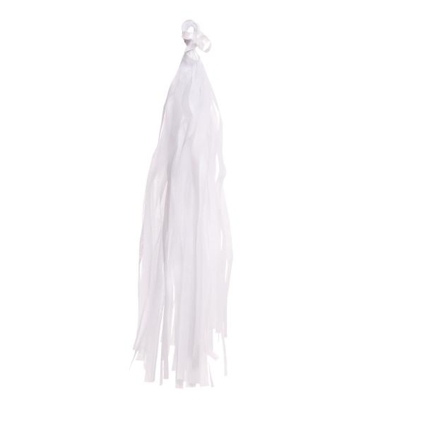 Tasselband Weiß