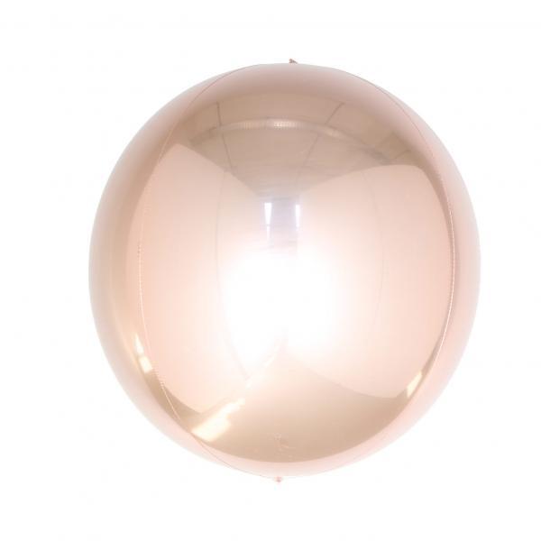 Orbz Folienballon rosegold