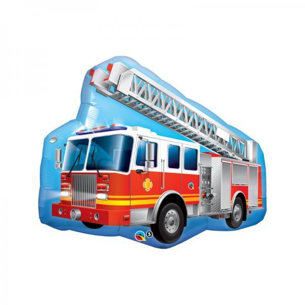 Feuerwehrauto Folienballon