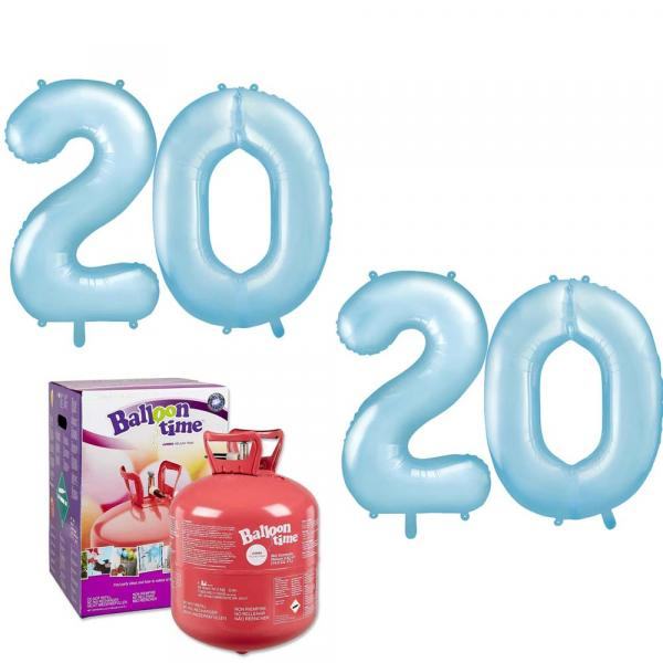Zahlen Set 2020 Mit helium
