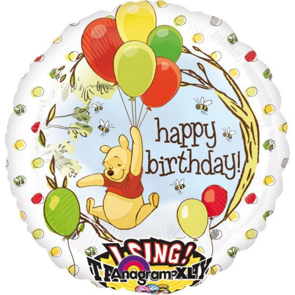 Winnie the Pooh Folienballon Musikballon