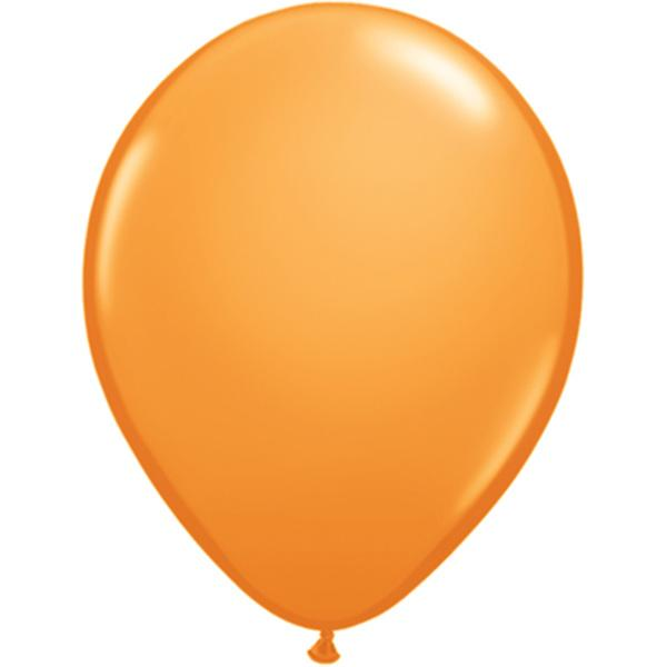 Luftballon Orange