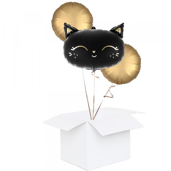 Happy Halloween Cat Ballonbox