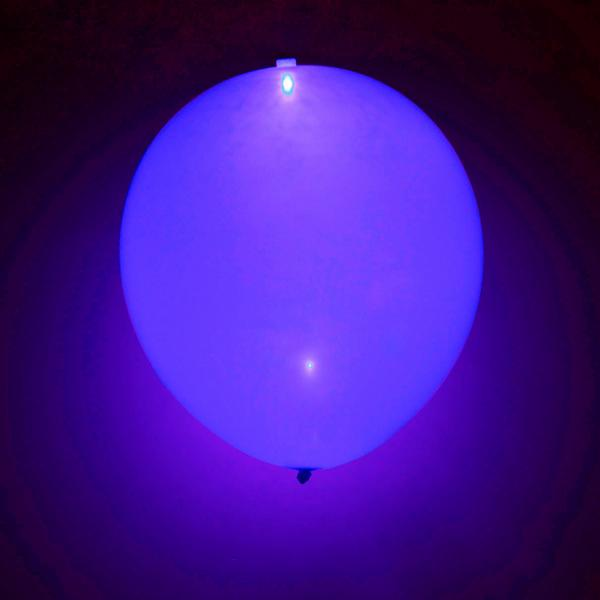 LED BALLON LILA