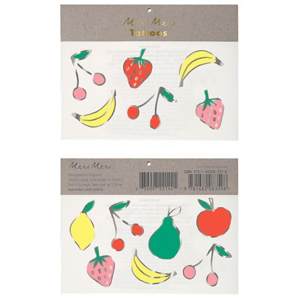 Früchte Tattoos