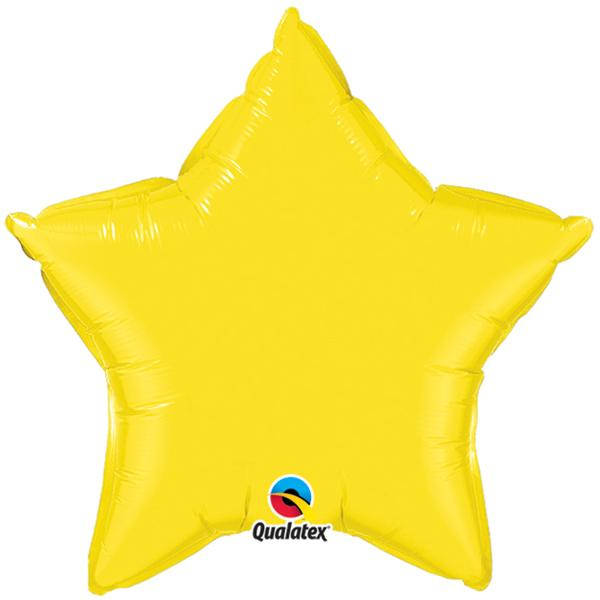 Ballon Stern gelb