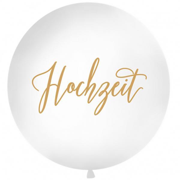 Riesenballon Hochzeit