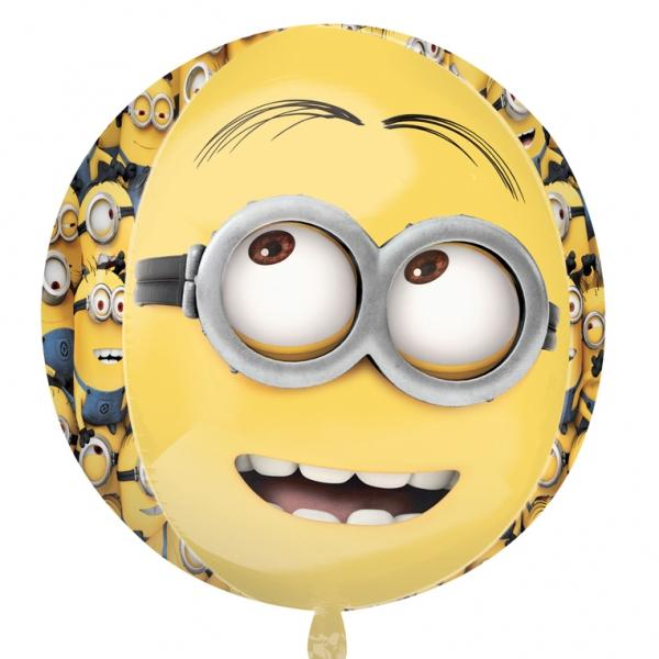 Minion Orbz Folienballon 3D