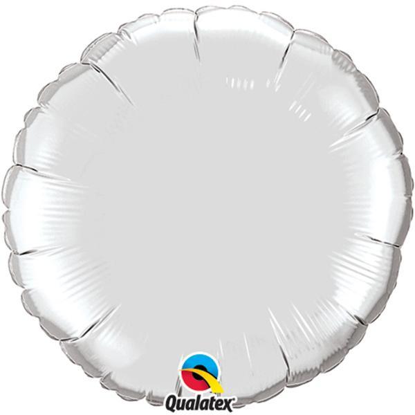 Ballon Folie Silber