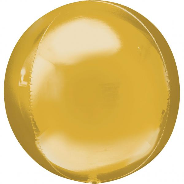 Orbz Folienballon Gold