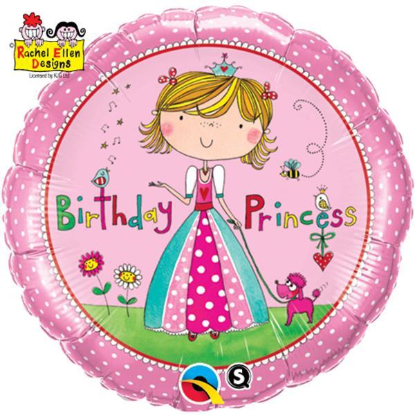 Birthday Princess Folienballon