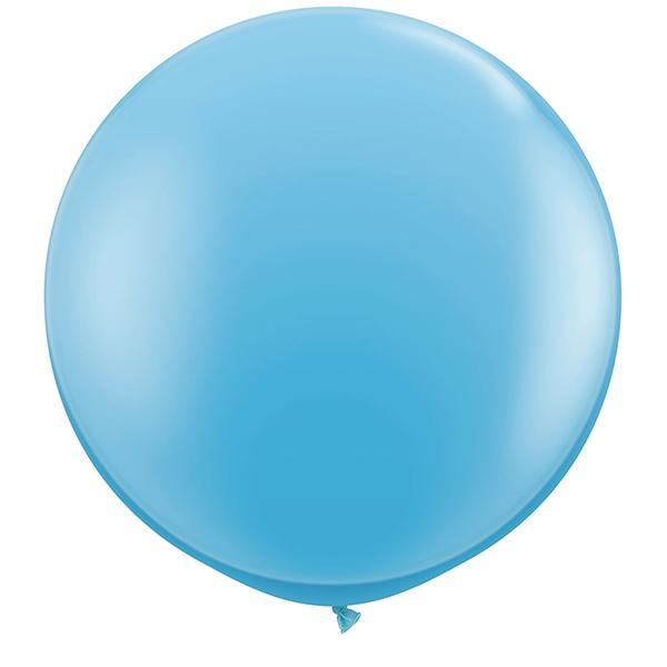 Riesenballon Hellblau