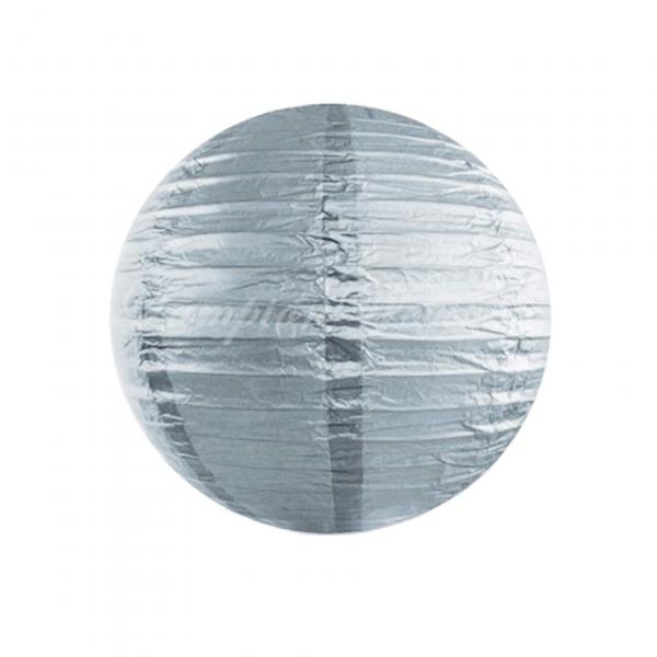 Lampion silber