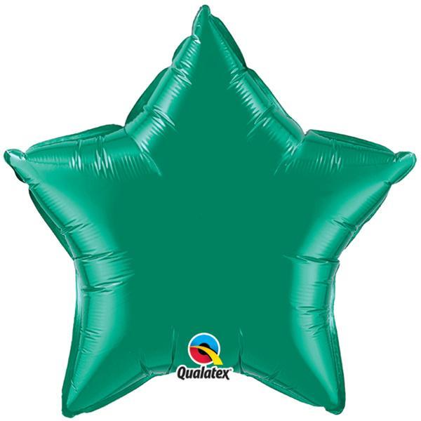 Folienballon Stern Grün