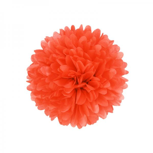 PomPom Mandarin Red