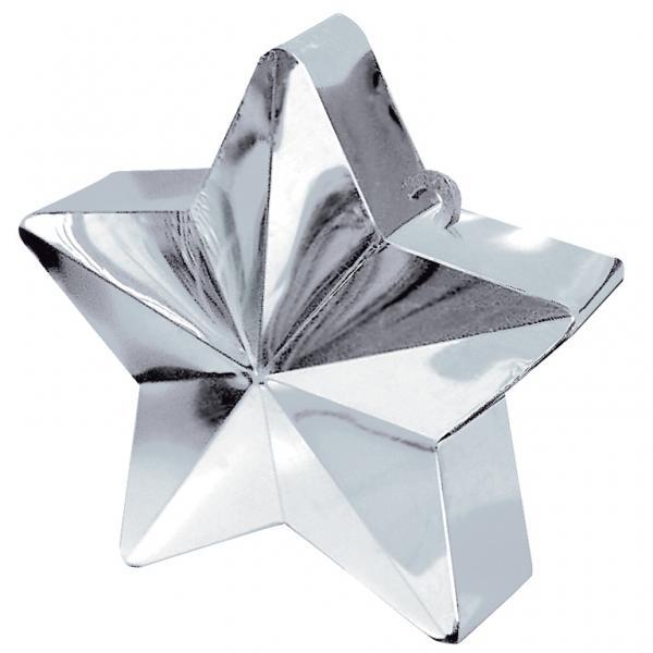 Ballongewicht, Sternform, Silber