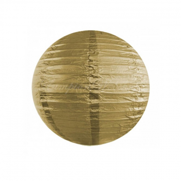 Lampion Gold 25cm