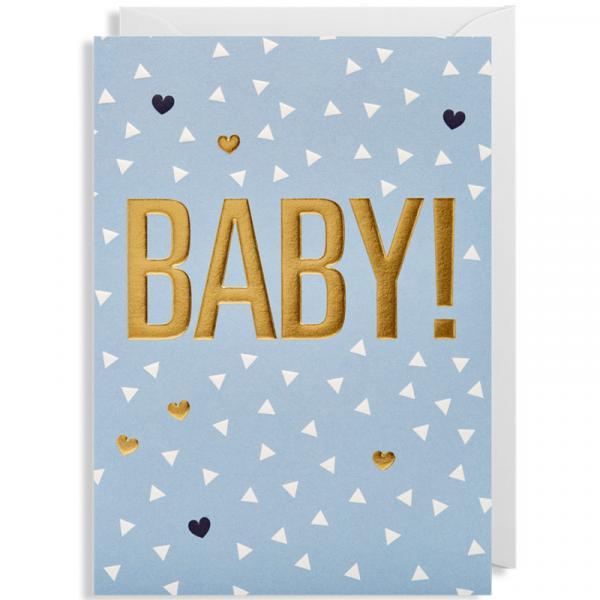 Grußkarte Baby Boy!