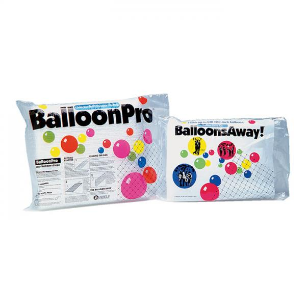 Ballonnetz für Ballondrop