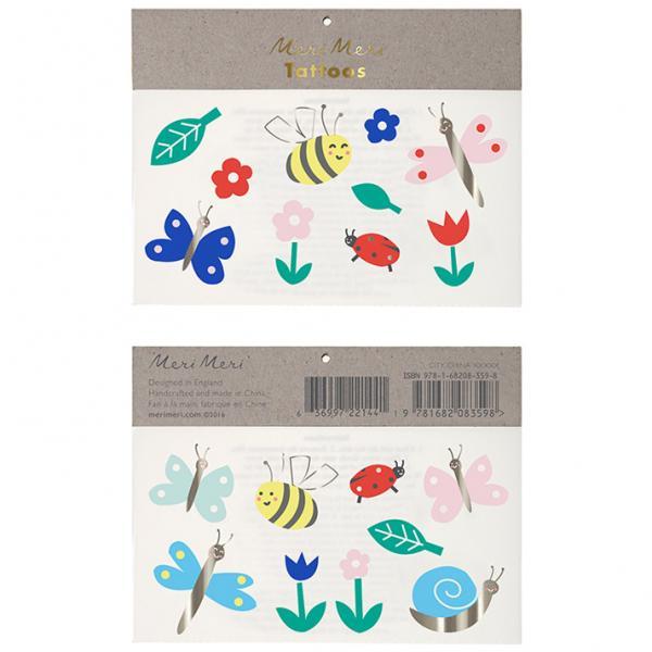 Schmetterling und Bienen