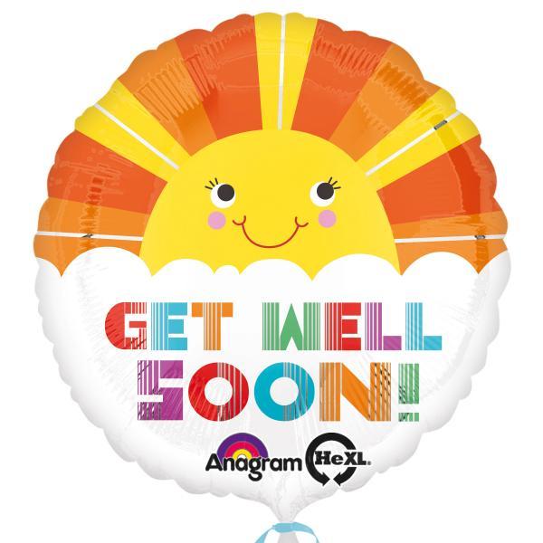 Gute Besserung / Get Well Soon Folienballon