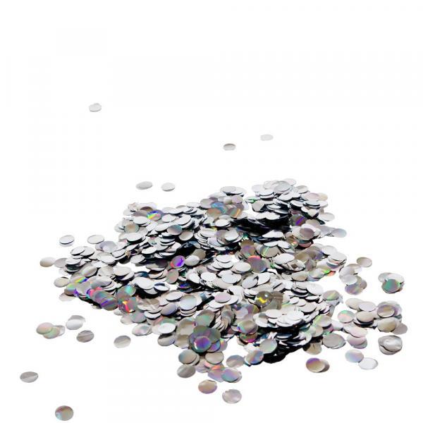 Konfetti Silber Glitzer