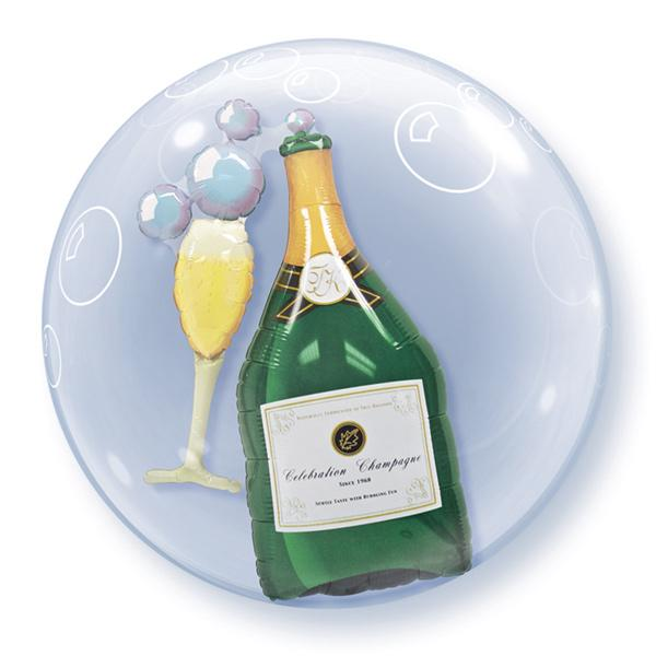 Champagner Bubble Ballon